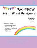 Rainbow Math Word Problems Grade 3  Vol V  PDF