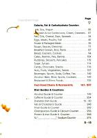 The Doctor s Pocket Calorie  Fat and Carbohydrate Counter 2000 PDF