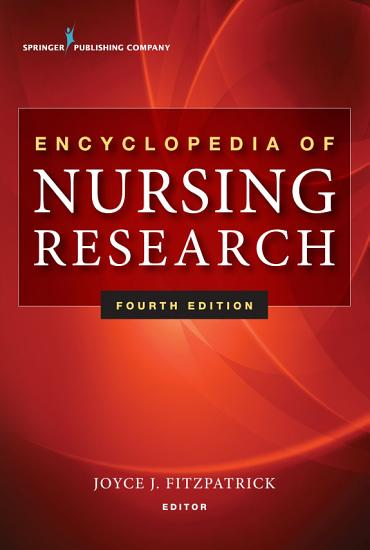 Encyclopedia of Nursing Research PDF
