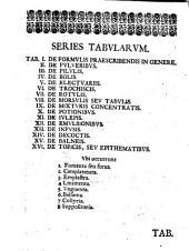 Conspectus formularum medicarum, exhibens tabulis XVI: tam methodum rationalem, quam remediorum specimina, ex praxi Stahliana potissimum desumta, et therapiae generali accomodata