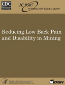 Reducing Low Back Pain and Disability in Mining