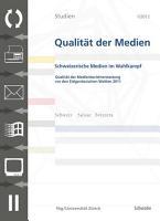 SQM 1 2012 Schweizer Medien im Wahlkampf PDF