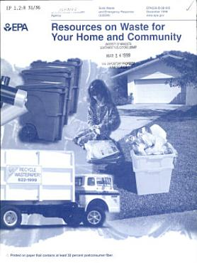 Resources on Waste for Your Home and Community PDF