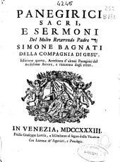 Panegirici sacri, e sermoni