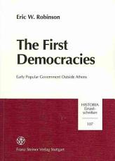 The First Democracies