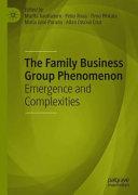 The Family Business Group Phenomenon PDF
