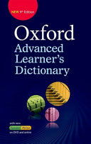 Oxford Advanced Learners Dictionary 9E Hardback   DVD ROM with Online Access Pa PDF