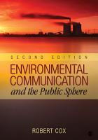 Environmental Communication and the Public Sphere PDF
