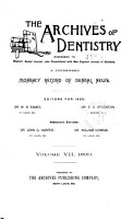 Archives of Dentistry PDF