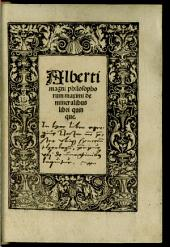 Liber Mineralium