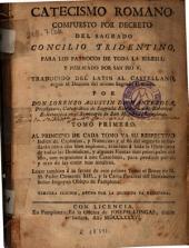 Catecismo romano: Compuesto por decreto del Sagrado Concilio Tridentino para los parrocos de toda la Iglesia y publicado por San Pio V