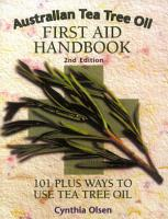 Australian Tea Tree Oil First Aid Handbook PDF