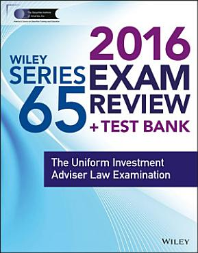 Wiley Series 65 Exam Review 2016   Test Bank PDF