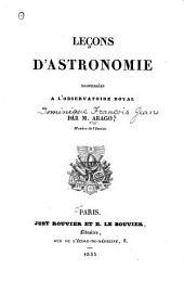Leçons d'astronomie professées à l'Observatoire royal