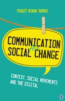 Communication for Social Change PDF