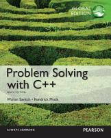 Problem Solving with C    Global Edition PDF