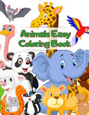 Animals Easy Coloring Book PDF