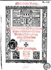 Mirabilia Rome. Opusculum de mirabilibus nove et veteris urbis Rome