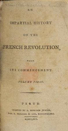 An Impartial History of the French Revolution from its commencement   With portraits   PDF