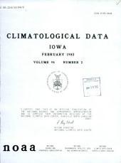 Climatological data: Iowa, 第 94 卷,第 2 期