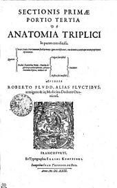 SECTIONIS PRIMAE PORTIO TERTIA DE ANATOMIA TRIPLICI In parte tres diuisa. Quarum priori, Panis, Nutrimentum facile princeps, ignis acie dissecatur, eius elementa, occultaeque eorum proprietates discutiuntur. Duabus sequentibus Homo, Nutritu dignitate praecellentissimum, sectione Anatomiae bifaria, videlicet vel Vulgari seu visibili Mystica seu inuisibili Diuiditur