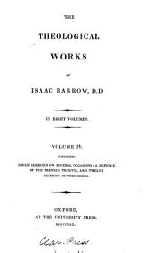 The Theological Works of Isaac Barrow: Volume 5