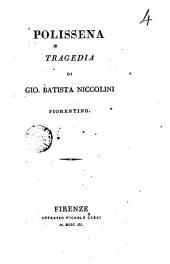 Polissena tragedia di Gio. Batista Niccolini fiorentino