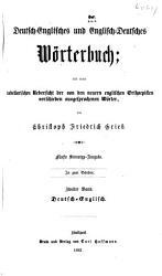 Englisch Deutsches und Deutsch PDF