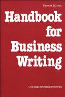 Handbook for Business Writing