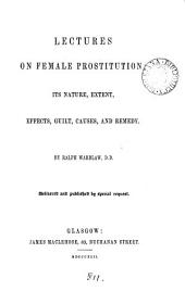 Lectures on female prostitution