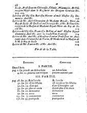 Lettres diverses ou les critiques de la critique de ... Francesco Signorotti en faveur de la nouvelle methode de guera la fistule la crimale nouvellement inventee par Dominique Anel. - Turin 1713