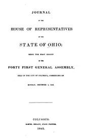 Journal of the House of Representatives of the State of Ohio: Volume 41