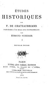 Études historiques: Volume1