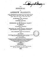 The Journal of Andrew Ellicott  PDF