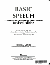 Basic Speech PDF