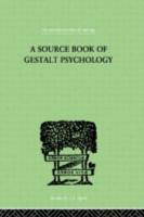 A Source Book of Gestalt Psychology PDF
