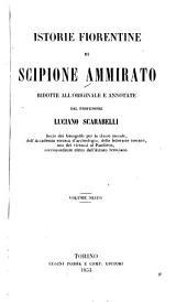 Istorie fiorentine: Volumi 6-7