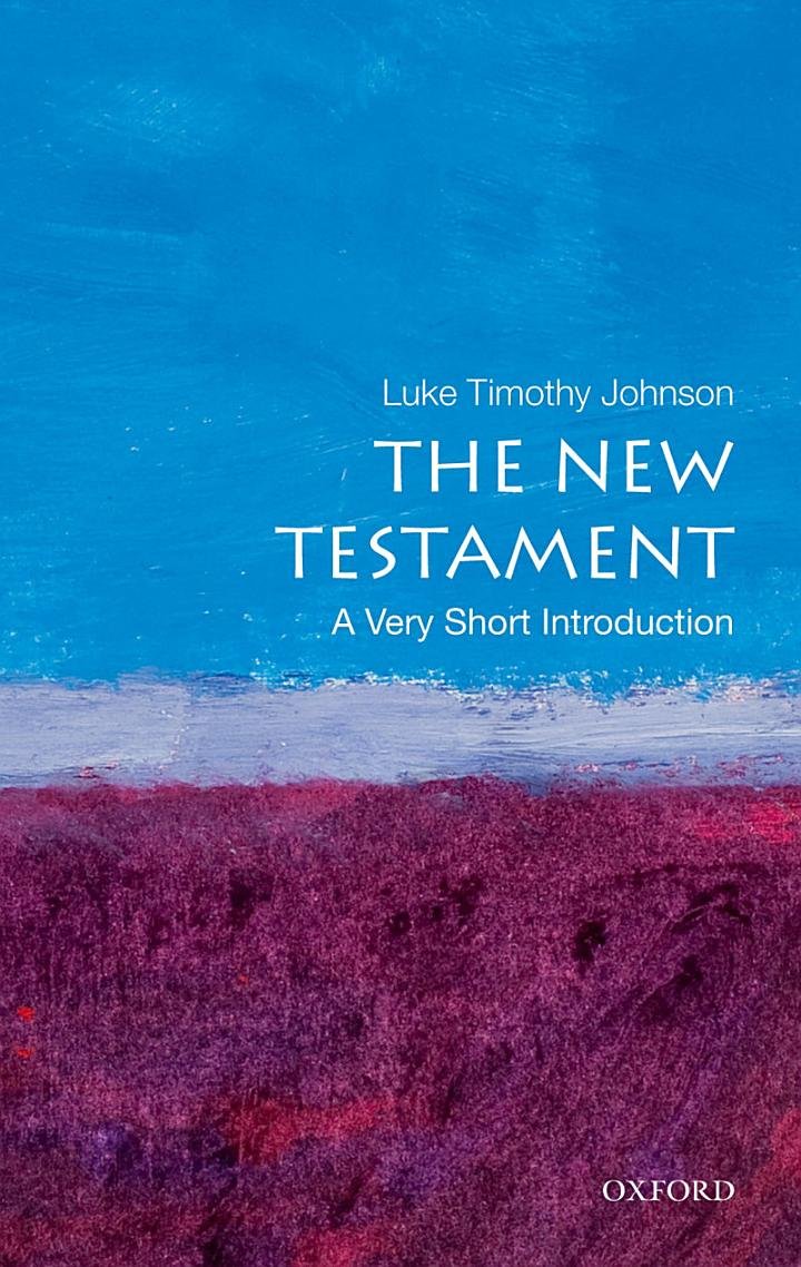 The New Testament: A Very Short Introduction