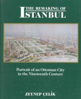 The Remaking of Istanbul PDF