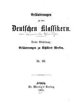 Erläuterungen zu den deutschen Klasikern...
