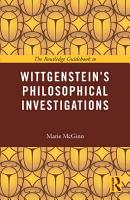 The Routledge Guidebook to Wittgenstein s Philosophical Investigations PDF