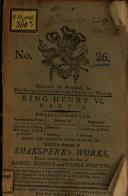 Henry VI. Part I.