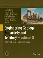 Engineering Geology for Society and Territory - Volume 8: Preservation of Cultural Heritage