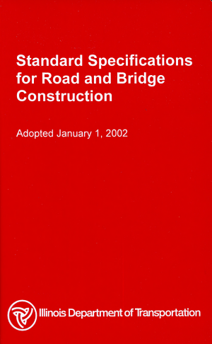 Standard Specifications for Road and Bridge Construction