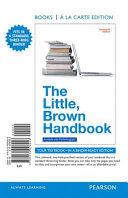 The Little  Brown Handbook  Books a la Carte Edition PDF