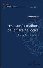 Les transformations de la fiscalité locale au Cameroun