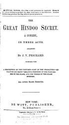 The Great Hindoo Secret