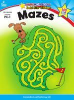 Mazes  Grades PK   1 PDF