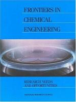 Frontiers in Chemical Engineering PDF