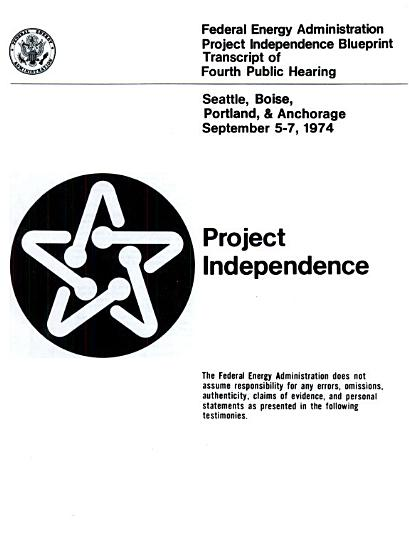 Project Independence Blueprint Transcript of Fourth Public Hearing PDF